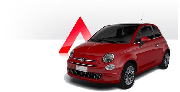 Fiat 500 rosso